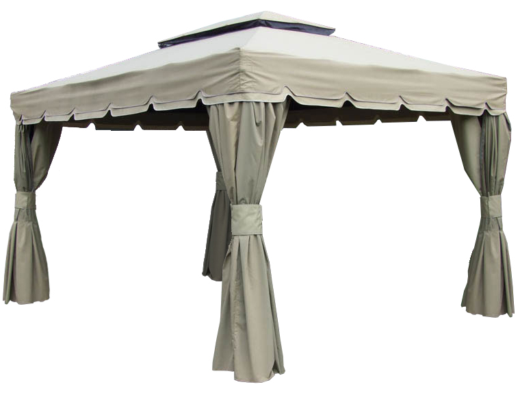 Gazebo toile de remplacement 10x10 pour gazebo bellagio for Bellagio gazebo club piscine